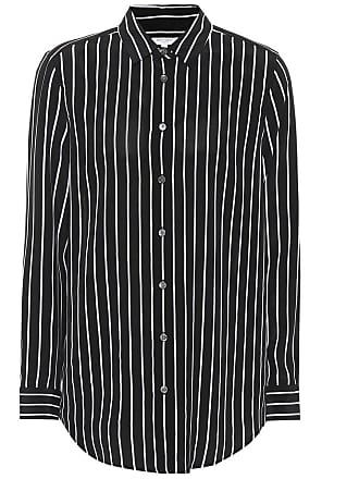 Equipment Essential pinstriped silk shirt