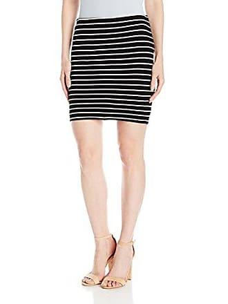 Karen Kane Womens Stripe Skirt, L