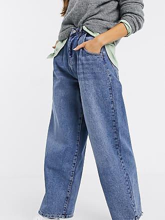 Reclaimed Vintage inspired The 97 high waist wide leg mom jean-Blue