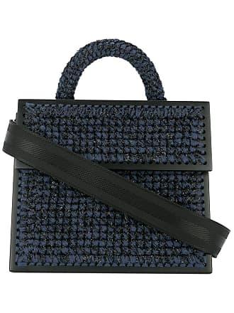 0711 Bolsa transversal grande - Azul
