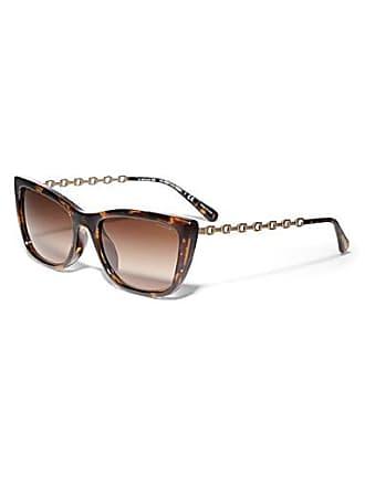 Coach Signature temple rectangular sunglasses