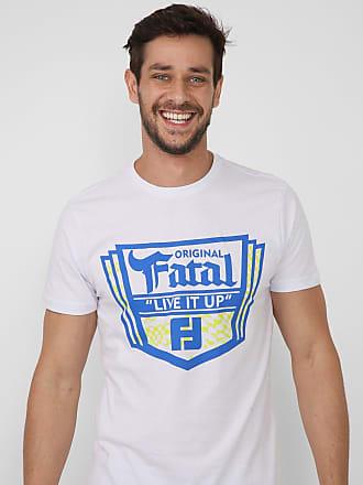 Fatal Surf Camiseta Fatal Lettering Branca