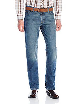 Wrangler Mens 20X Cool Vantage Competition Slim Fit Storm Blue Jean, Storm Blue, 29x36