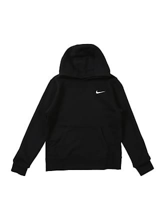 b6685204f5b Nike Sweatshirt YA76 Brushed Fleece zwart / wit