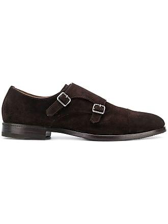 Henderson Baracco Sapato monk strap - Marrom