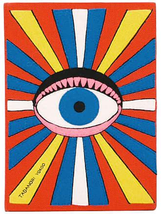 Olympia Le-Tan Clutch Eye book - Laranja