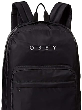 Obey Womens Drop Out Backpack, Black, One Size