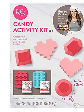 Wilton ROSANNA PANSINO by Wilton Candy Making Activity Kit - Silicone Candy Molds Set