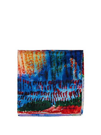 Paul Smith Abstract Silk Pocket Square - Mens - Multi