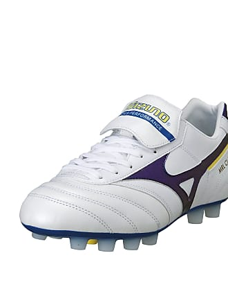 newest 79a26 1ba39 Mizuno MRL Classic MD Mens Football Boot, WhitePurple, UK9.5
