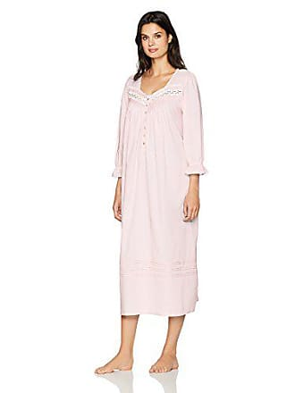aab8beedec Eileen West Womens Cotton Lawn Long Sleeve Ballet Nightgown