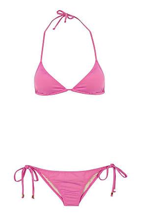 3d1a1045f Triya Top Cortininha Calcinha Lacinho Bali Rosa-PP