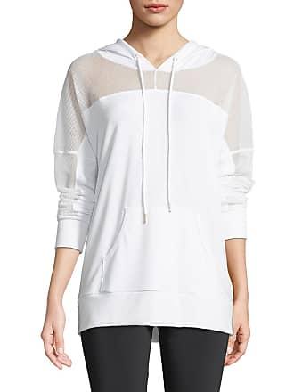 Onzie Hooded Long-Sleeve Mesh Pullover