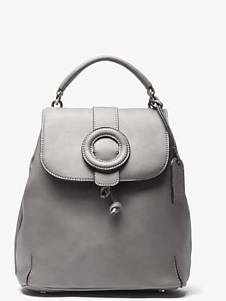 Sole Society Womens Buhck Backpack Vegan Grey One Size Vegan Leather From Sole Society