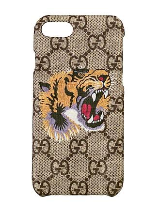7c27bb249777 Gucci Tiger print iPhone 8 case - Neutrals