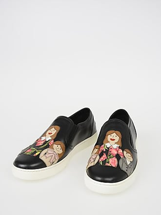 8d0776f62f Dolce   Gabbana Leather LONDON Slip Ons with FAMILY Patch size ...