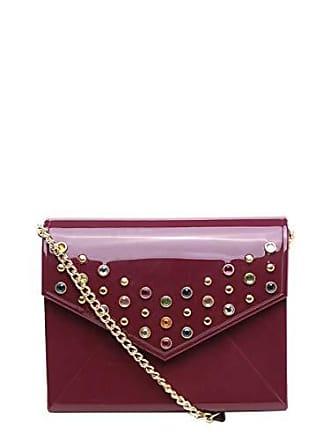 408f966cfb Petite Jolie Bolsa Petite Jolie Mini Bag Envelope Pedrarias Alça Corrente  Feminina - Vinho - Único