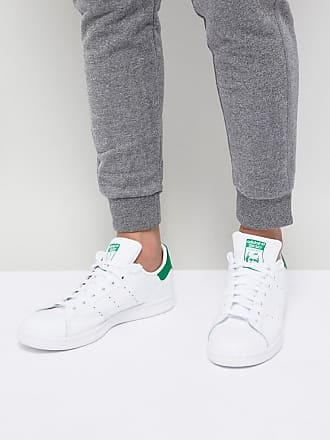 buy popular aa724 f05f9 adidas Originals Stan Smith - Weiße Sneaker aus Leder, M20324 - Weiß