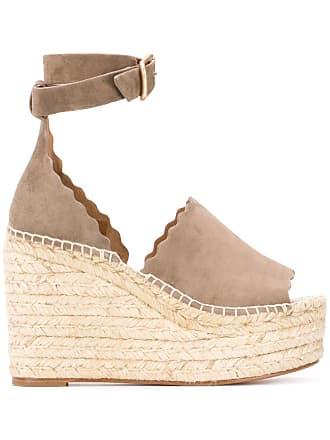 Chloé Lauren espadrille sandals - Neutrals