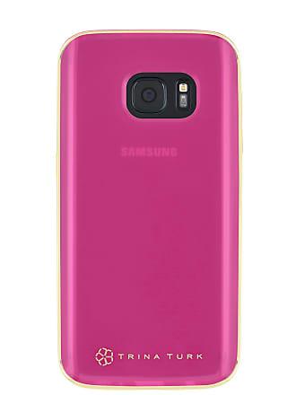 Trina Turk Translucent Samsung Phone Case - Pink - Galaxy S7 Edge