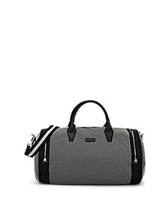 Barneys New York Womens Mesh-Overlay Duffel Bag - Black 5d4d3ebed4554