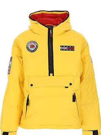 Tommy Hilfiger Daunenjacke für Herren, wattierte Ski Jacke Günstig im Sale,  Gelb, Polyamid 7506a89d99