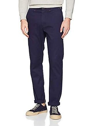 87029fe878 Springfield Chino Slim Basico Oi18 Pantalones, Hombre, Azul (Gama Azules  12),