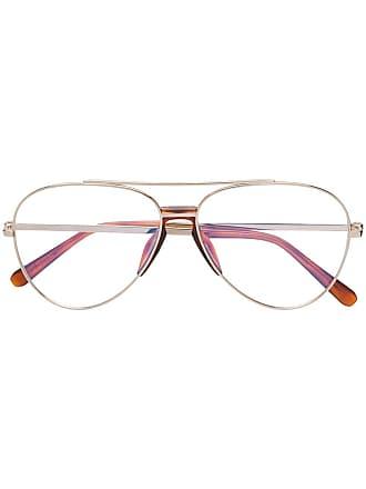 Brioni aviator-style glasses - Dourado
