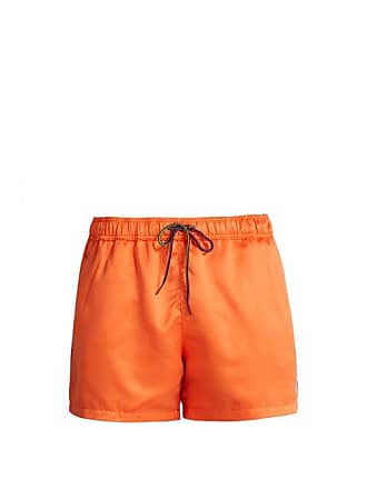 503f8fe022b25 Paul Smith Zebra Appliqué Swim Shorts - Mens - Orange