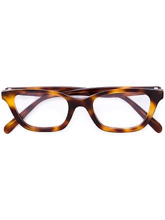 799a66a7ee35 Celine tortoiseshell rectangular frame glasses - Brown