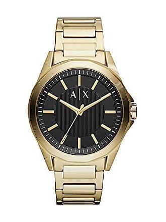 Armani Relógio Armani Exchange Masculino Drexler Dourado Ax2619/1dn