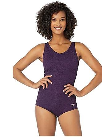 2ca81304356 Speedo Pebble Texture One-Piece (Gravity) Womens Swimsuits One Piece