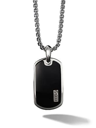David Yurman Exotic Stone black onyx Tag Enhancer - Ssbbo