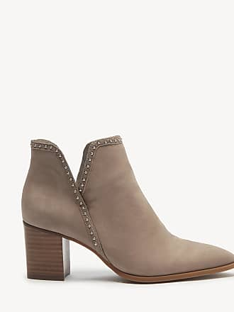 Sole Society Womens Dalphine V Cut Bootie Porcini Size 5 Leather From Sole Society
