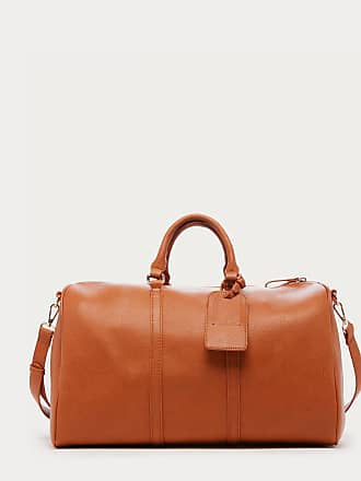 Sole Society Womens Cassidy Weekender Vegan Leather In Color: Brandy Bag From Sole Society