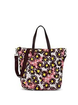 4db1fe504ecf Prada Womens Leather-Trimmed Floral Tote Bag - Bordeaux dis.  margher Bordeaux dis