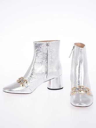 50687c2a9c3cf Marc Jacobs 6 cm Metallic Leather Booties size 37