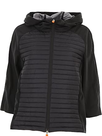 Save The Duck Jacket for Women On Sale, Black, Nylon, 2017, 2 4