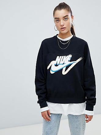 f4fdbee21e21 Nike Archive - Sweat-shirt à logo effet gribouillage - Noir - Noir