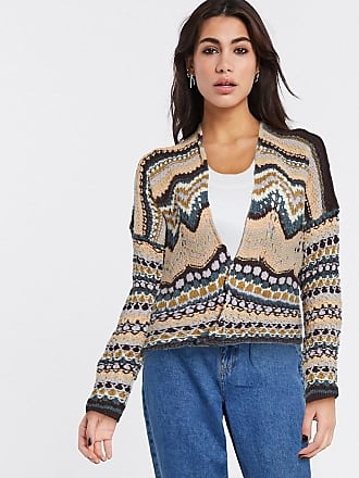Free People furisle cardi in brown