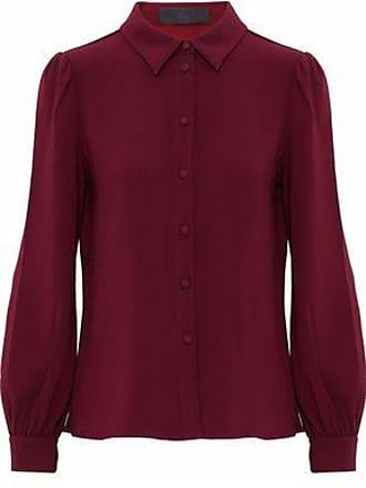 4a64d173 Co Co Woman Crepe Shirt Burgundy Size S