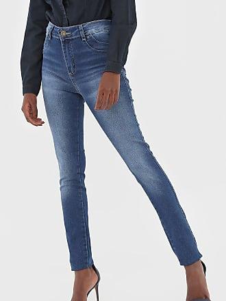 Sawary Calça Jeans Sawary Estonada Azul