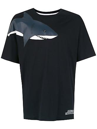 Armani T-shirt com estampa - Preto