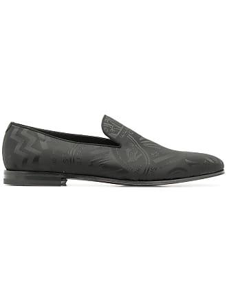 Salvatore Ferragamo patterned loafers - Black