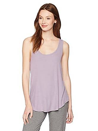 Maidenform Womens Rococo Affairs Rib Tank, Purple ash, Large