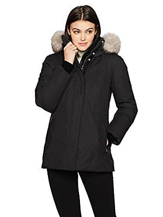 a96e6ac0ec98 Mackage Womens Danika Lux Fitted Down Jacket with Fur Hood