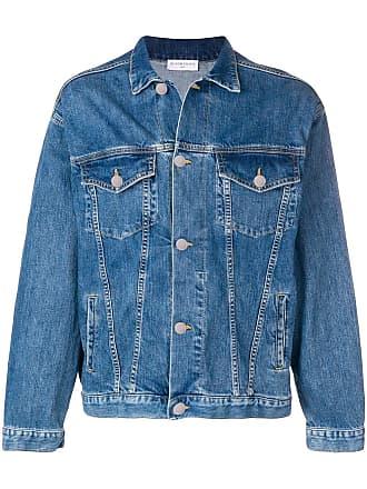 Ih Nom Uh Nit loose fit denim jacket - Blue