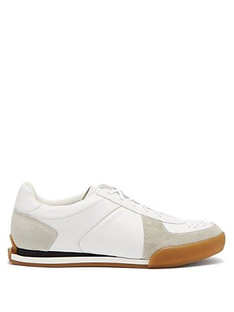 Givenchy Set 3 Leather And Suede Trainers - Mens - White Black