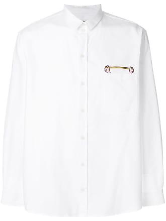 Henrik Vibskov Camisa Measuring - Branco
