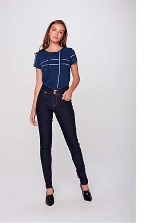 Damyller Calça Jeans Skinny Escura Move Denim Tam: 42 / Cor: BLUE